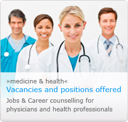 New joboffers for medicine and health professionals
