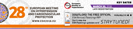 28th European Meeting on Hypertension and Cardiovascular Protection Logo