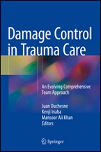 Damage Control in Trauma Care Book