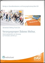 DAK-Versorgungsreport Diabetes