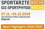 35. Sportärztewoche und 7. GIZ-Sportphysiowoche