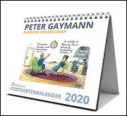 Cartoons von der Couch. Postkartenkalender 2020