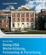 Going USA 2019: Weiterbildung, Fellowship & Forschung