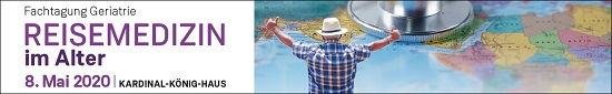 Fachtagung Geriatrie: Reisemedizin im Alter 2020