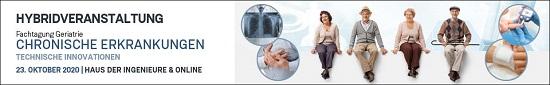 Hybridveranstaltung – Fachtagung Geriatrie – Chronische Erkrankungen 2020