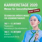 Karrieretage 2020 – Die Messe für Beruf, Aus- und Weiterbildung im Gesundheitsbereich