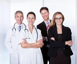 Professional Hospital Staff