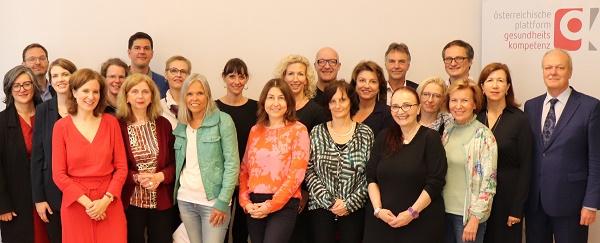 Gruppenbild OePGK Trainernetzwerk ©oepgk