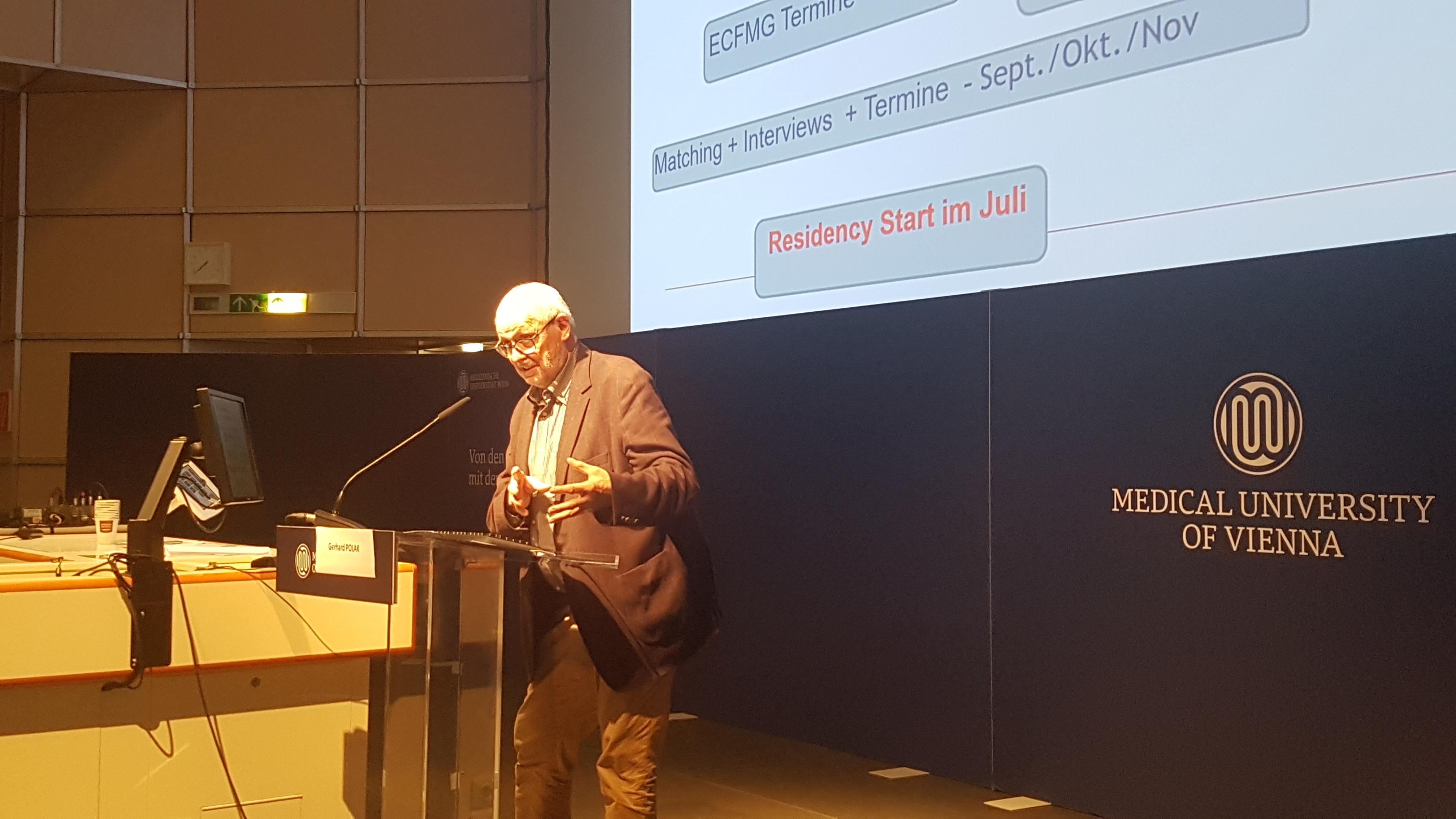 Lecture Gerhard Polak