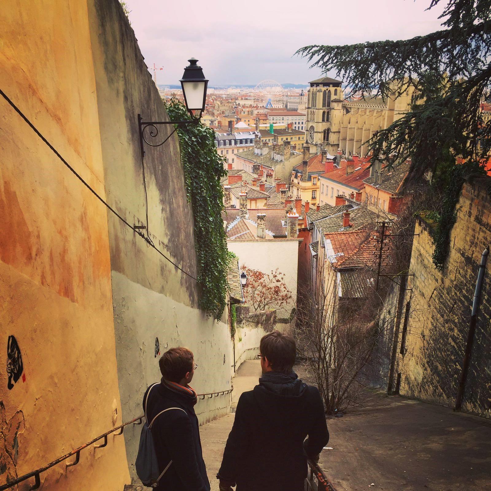 © Michael Reisinger, Blick auf die Altstadt mit der Cathédrale Saint-Jean