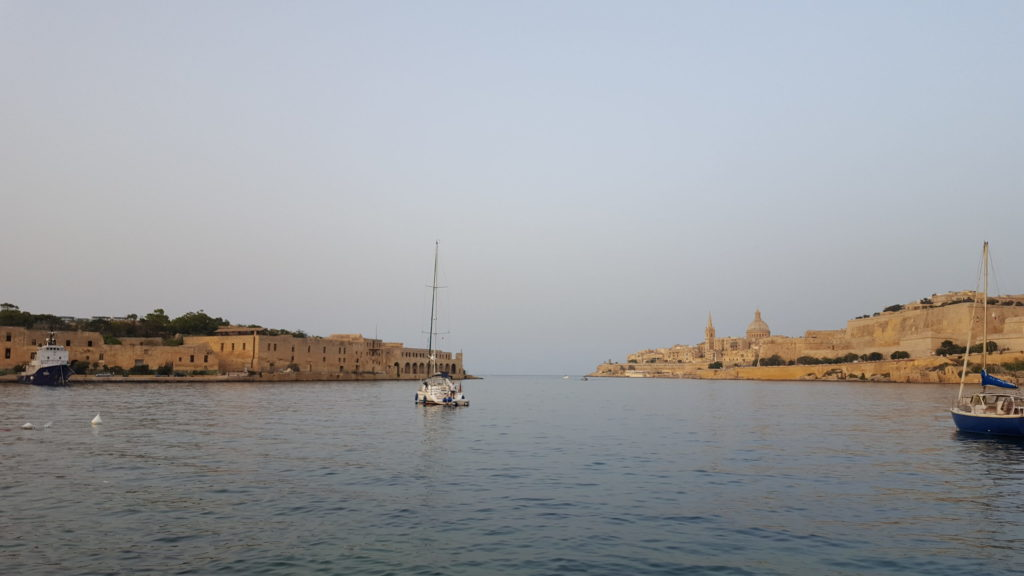 © Teresa Anzböck: View on Fort Manoel and Valletta, the capital city of Malta